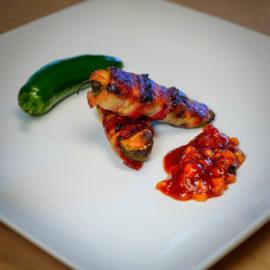 Shrimp Jalapeno Poppers