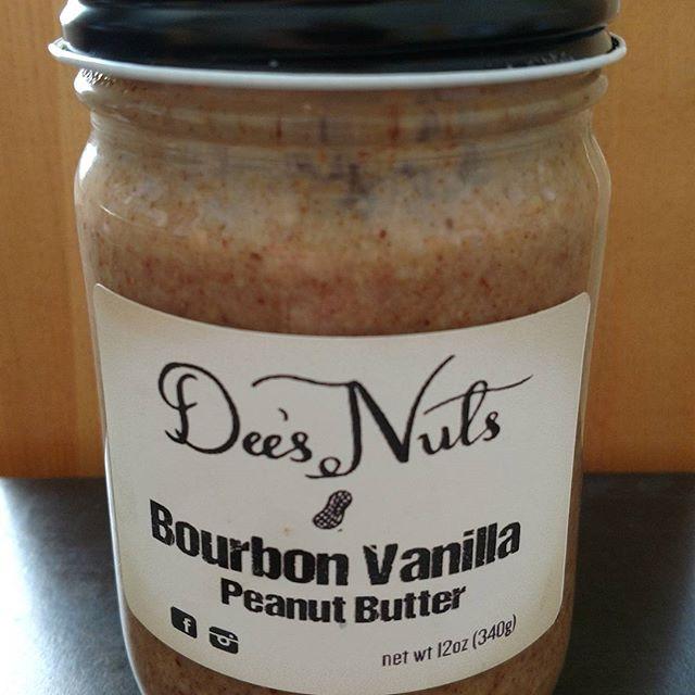 Dee's Nuts Bourbon Vanilla Peanut Butter
